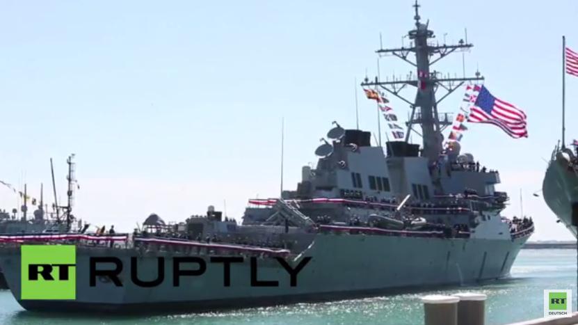 Spanien: Gekommen um zu bleiben – Dritter US-Zerstörer erreicht Rota für Daueraufenthalt