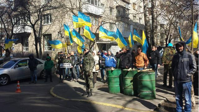 Live: Demonstranten fordern in Kiew Rücktritt des Obersten Militärstaatsanwalts