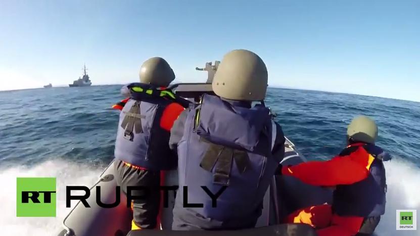 """Größte NATO-Übung Europas """"Joint Warrior"""" in der Nordsee"""