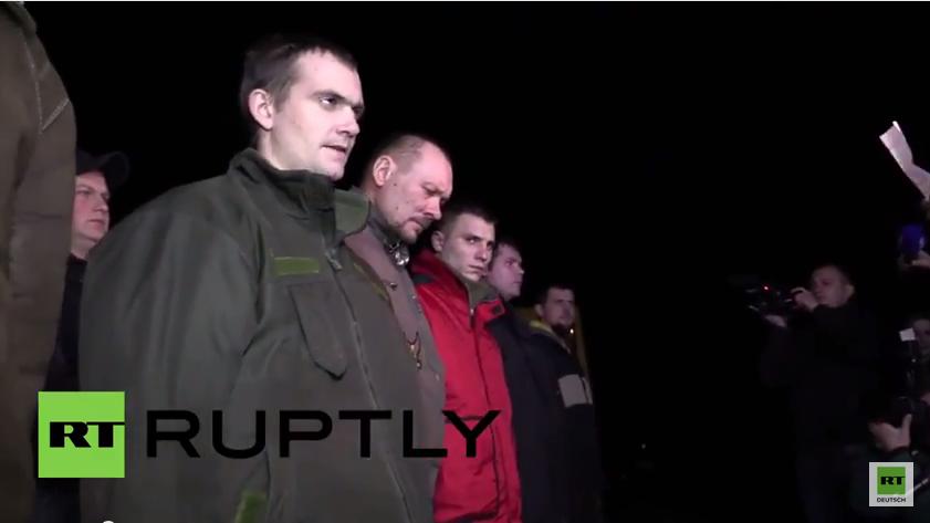 Donezk lässt Kriegsgefangene frei - Kiew keinen einzigen