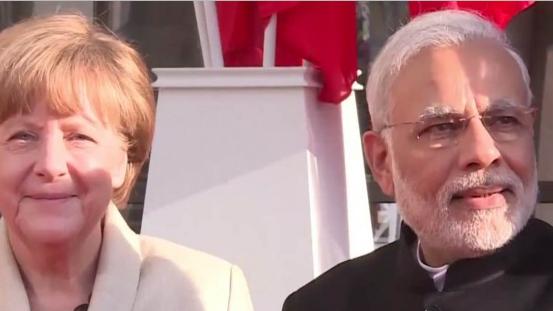 Live: Bundeskanzlerin Merkel und Indiens Premierminister Modi geben Pressekonferenz in Berlin