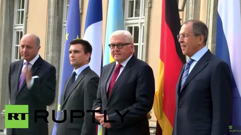 Live: Außenministertreffen im Normandie-Format zur Ukrainekrise in Berlin