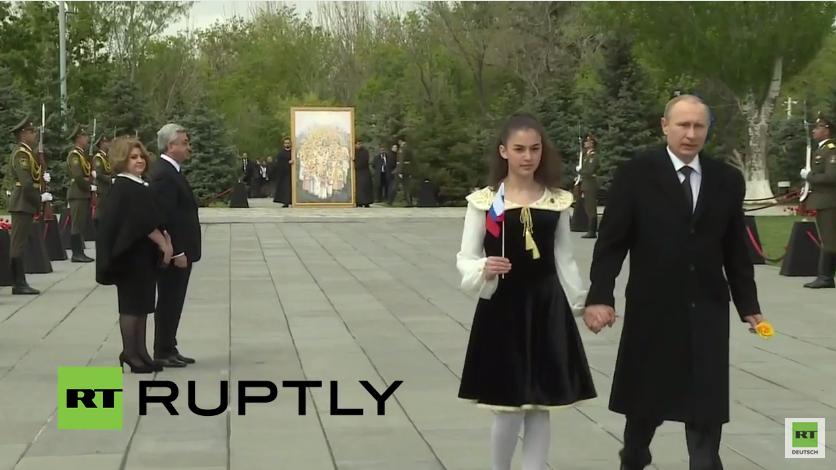 Live: Putin nimmt an Zeremonie zum 100. Jahrestag des Genozids an Armeniern teil