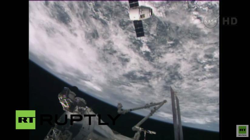 Live: Raumkapsel bringt Lebensmittel und Ausrüstung zur ISS