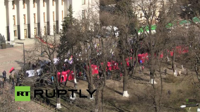 Live: Kundgebung des Rechten Sektors für das Verbot des Kommunismus
