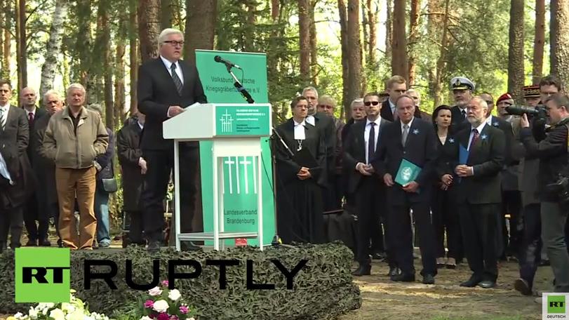 Steinmeier: Nie wieder sollen unsere Beziehungen zu Russland in solch schreckliche Extreme verfallen