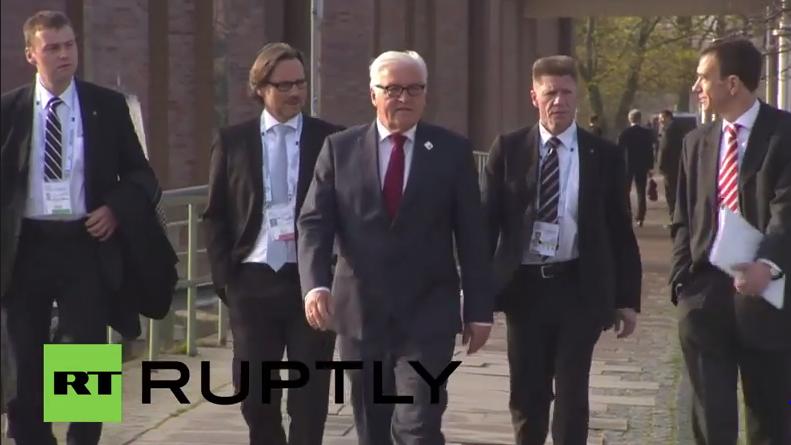 Live: G7-Außenministertreffen - Schlusswort des deutschen Außenminister Steinmeier