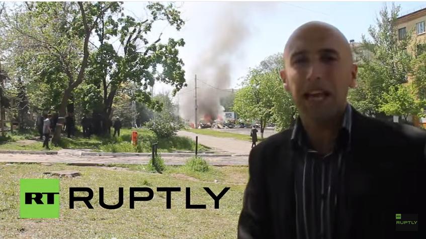 Live: Spendenveranstaltung für den Donbass von Graham Phillips in London