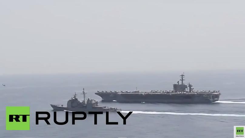 Arabisches Meer: US-Kriegsschiffe nehmen Kurs auf Jemen