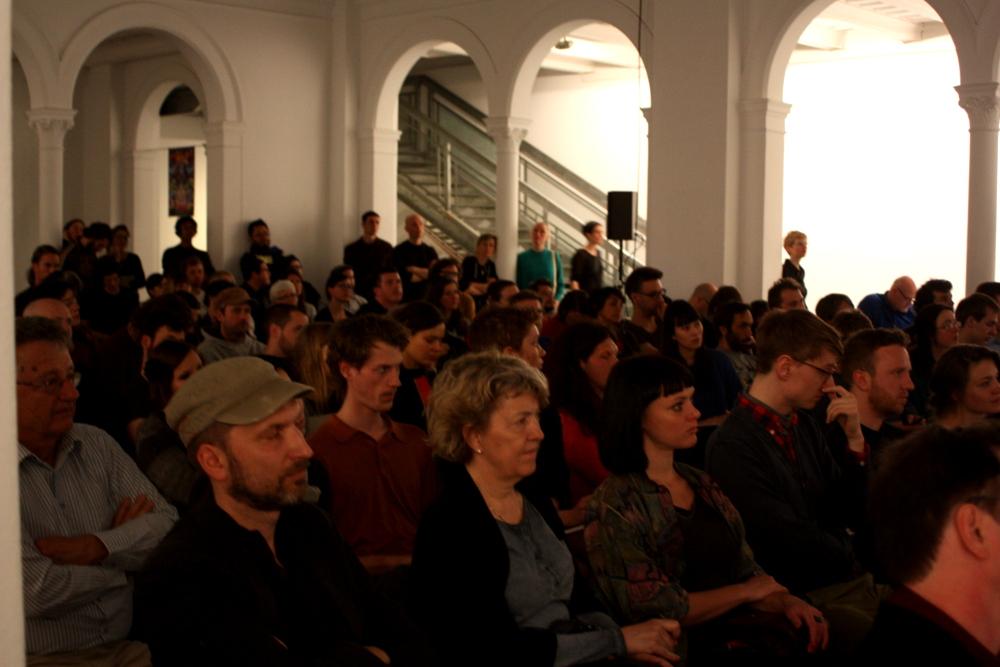 Rund 150 Gäste kamen zur ersten Veranstaltung des Disruption Network Lab