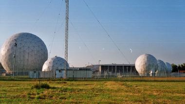 NSA/BND-Abhörstation in Bad Aibling. Quelle: Wikipedia
