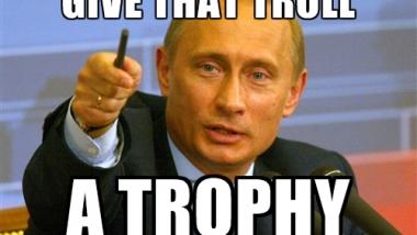 Putin-Meme. Quelle: Internet