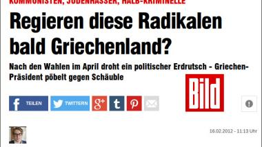 Screenshot: Bild.de