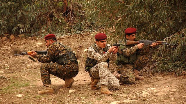 Deutschland sendet Waffen an kurdische Verbände unter Umgehung der irakischen Regierung