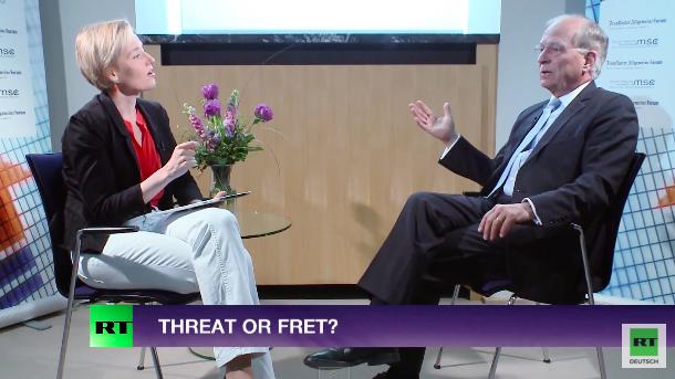 RT-Interview mit dem Vorsitzenden der Münchner Sicherheitskonferenz - Ukraine, NATO & US-Einfluss in EU