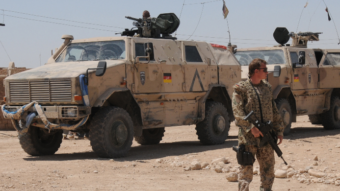 Deutsche Bundeswehr in Afghanistan. Quelle: ISAF Headquarters Public Affairs Office CC BY 2.0