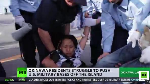 Weitere Proteste gegen US-Militärbasis auf japanischer Insel Okinawa
