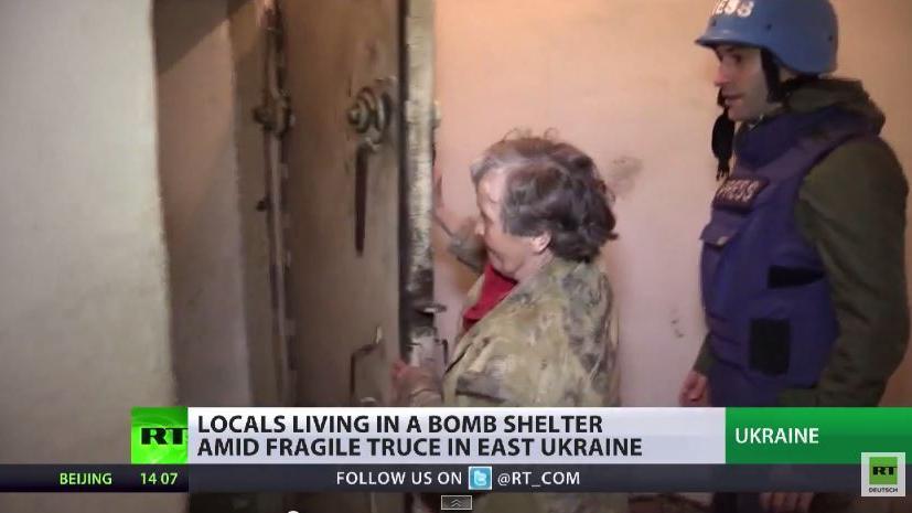 """Das Leben im """"Waffenstillstand"""" der Zivilbevölkerung in der Ostukraine"""