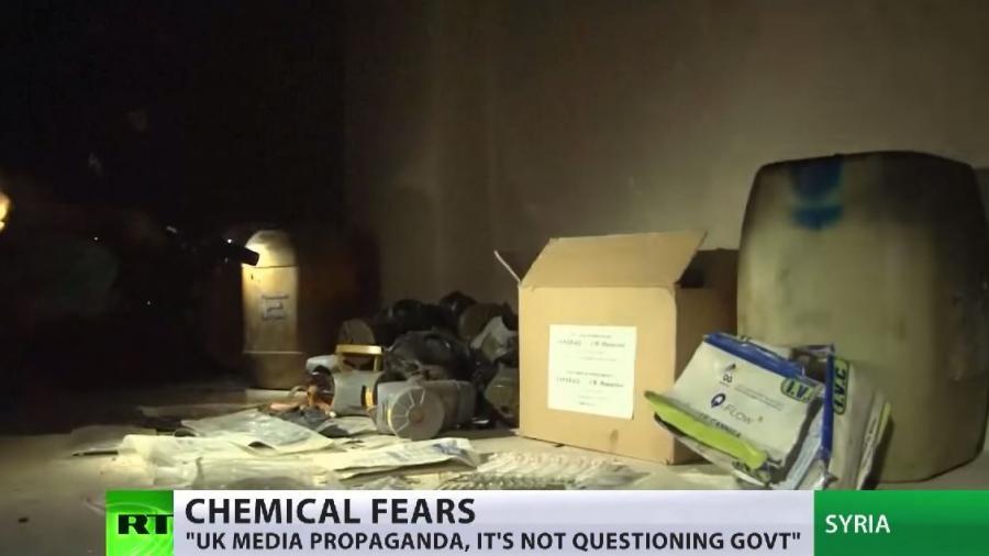 Finde den Fehler - Britische Antiterrorpolizei warnt vor Chlorgasattacken heimkehrender Dschihadisten