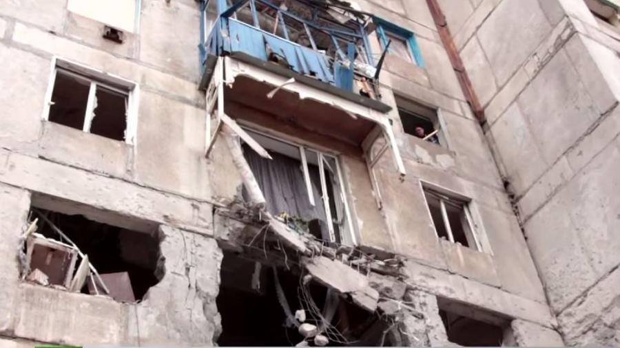 Trotz Waffenruhe in der Ostukraine - Intensiver Artilleriebeschuss auf Wohngebiete in Donezk
