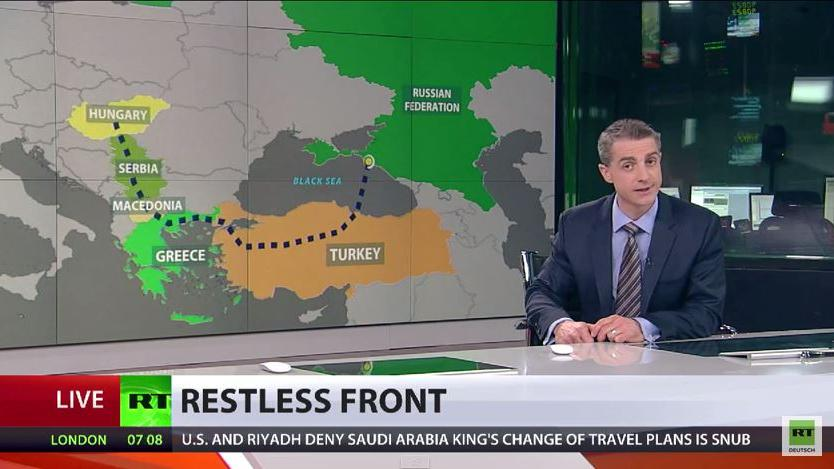 Experten sehen Zusammenhang zwischen russischem Pipelineprojekt und Unruhen in Mazedonien