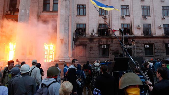 Jahrestag des Massakers von Odessa: Aktivisten verfolgt, ihre Demos verboten, aber Rechtsradikale dürfen marschieren