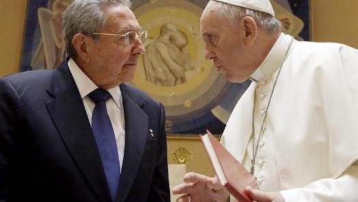 Kuba vor neuer Wende? Castro trifft Papst Franziskus und gelobt Rückkehr zur Kirche