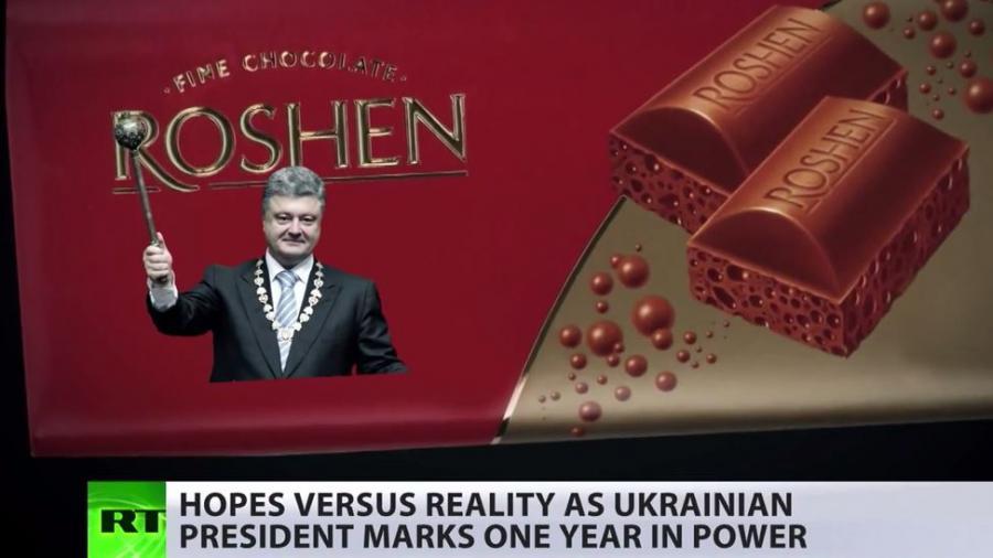 Poroschenko der Schokoladenkönig seit 1 Jahr im Amt - RT zieht Bilanz