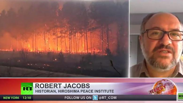 Waldbrand um Atomreaktor Tschernobyl – Experten warnen vor Austritt nuklearer Strahlung