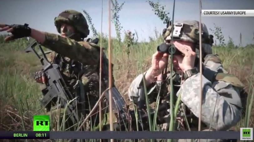"""""""Der Feind steht im Osten"""" - Bisher größtes NATO-Manöver vor russischer Grenze"""