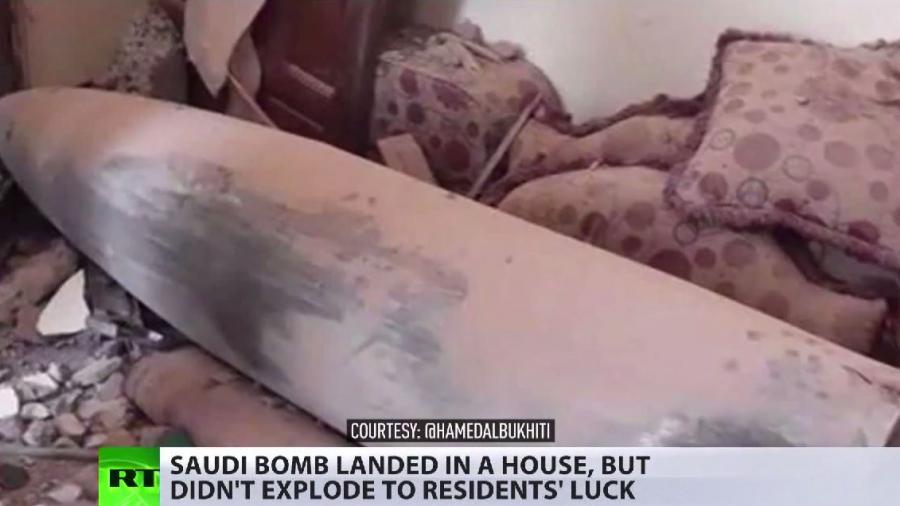 Und der Westen schweigt: Saudischer Bombenterror über Jemen - Blindgänger im Wohngebiet sorgt für Aufregung