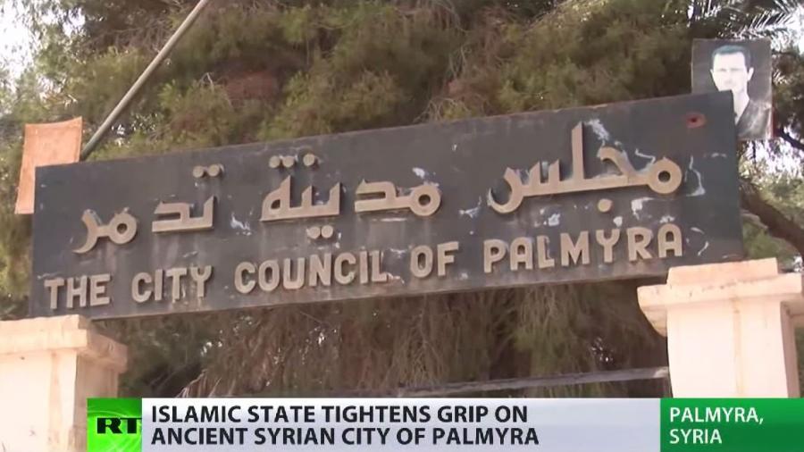 """Palmyra: """"Islamischer Staat"""" erobert syrisches Weltkulturerbe - Nun droht die Zerstörung"""