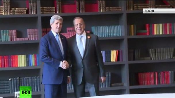 Kerry-Besuch in Sotschi als erster Schritt zur Normalisierung zwischen USA und Russland?