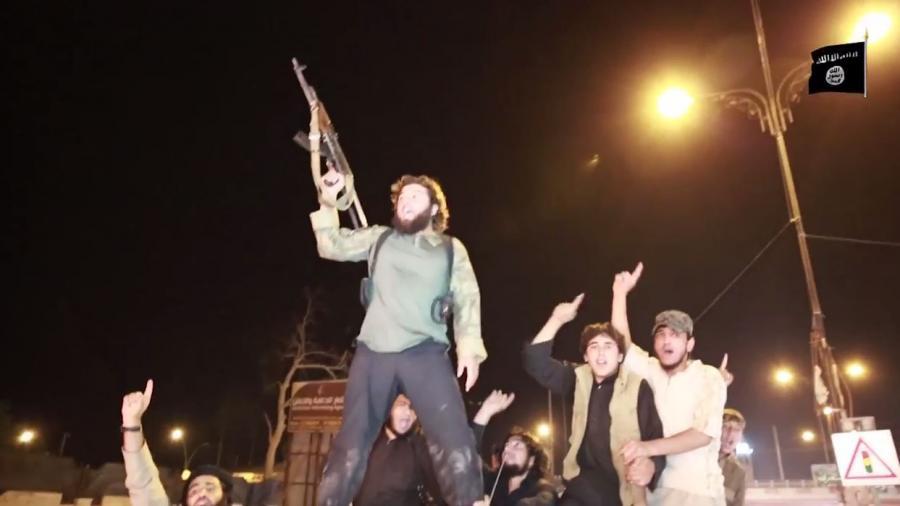 Quelle: Screenshot von einem IS-Propagandavideo