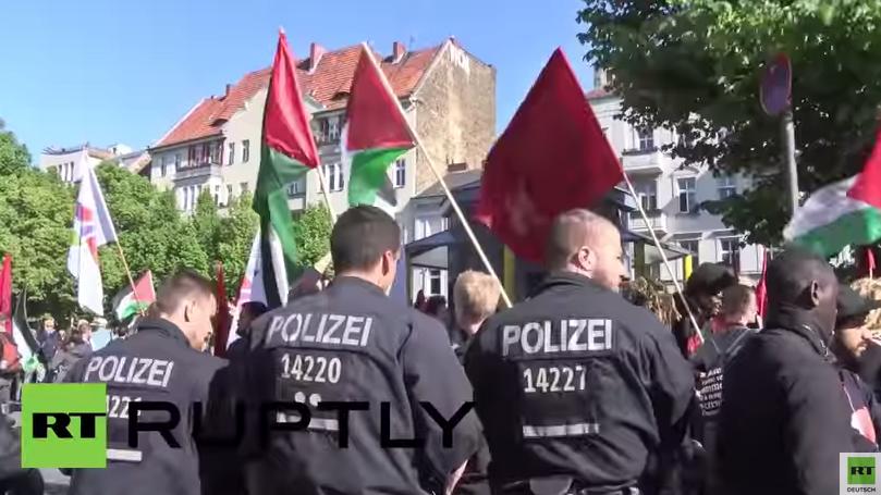 Berlin: Palästinenser begehen Nakba-Tag