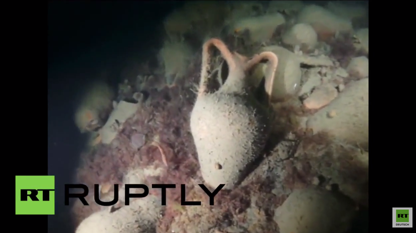 Seltener Fund: Byzantinisches Schiff im Schwarzen Meer entdeckt