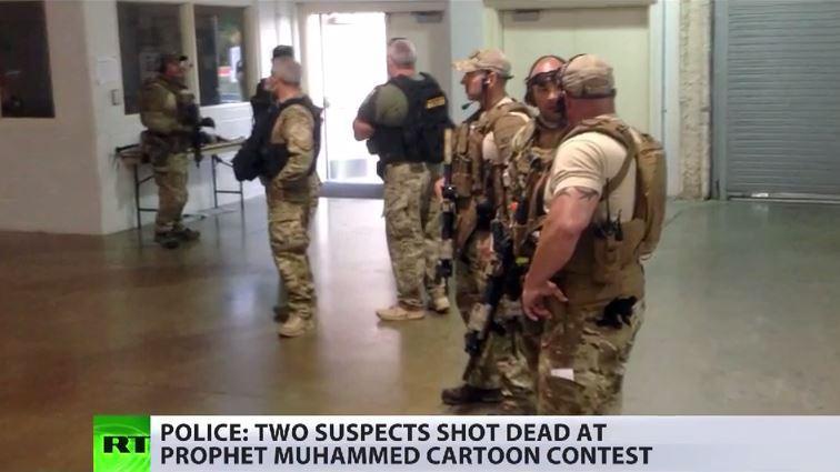 Texas: Anschlag bei Wettbewerb um beste Mohammed-Karrikatur - Kurz zuvor sprach dort Islamgegner Geert Wilders