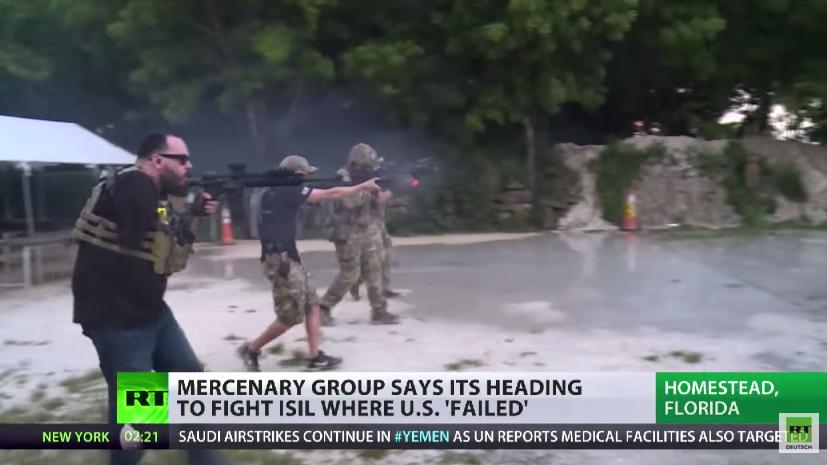 Eine Gruppe freiwilliger US-Bürger will in den Kampf gegen den IS ziehen