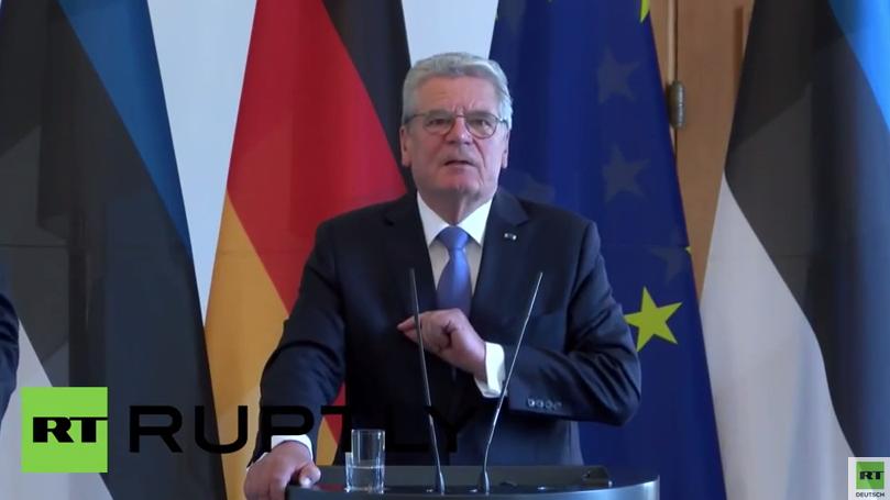"""Gauck nennt Russland """"die Bedrohung für die osteuropäischen Mitgliedsländer"""""""