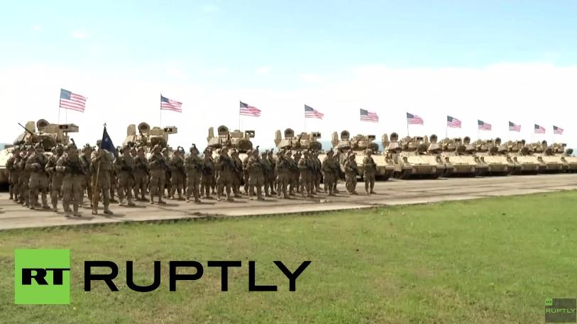 """Georgien: US-geführte Militärübungen """"Edle Partner"""" vor den Toren von Tiflis"""
