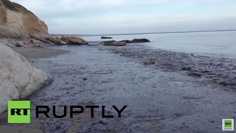 Kalifornien: Nach Pipelinebruch rund 80.000 Liter Rohöl ausgelaufen
