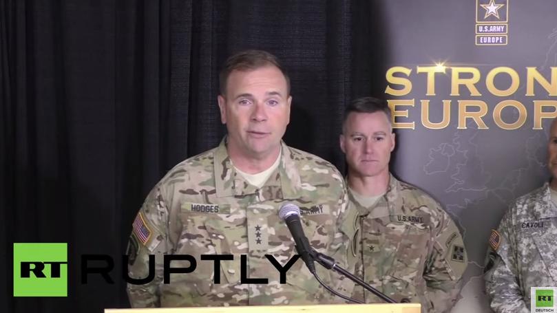 US-General Hodges: Russland trägt Verantwortung für Zunahme von NATO-Manövern