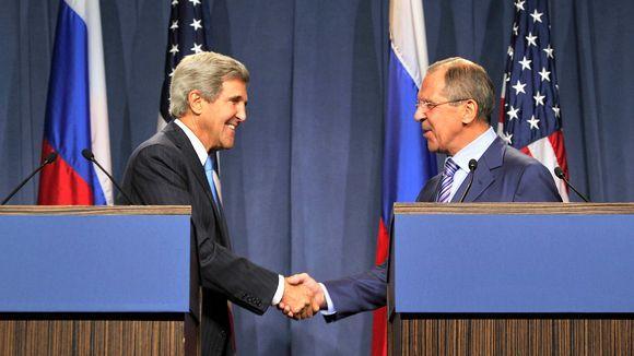 Live: Außenminister Russlands und der USA geben gemeinsame Pressekonferenz
