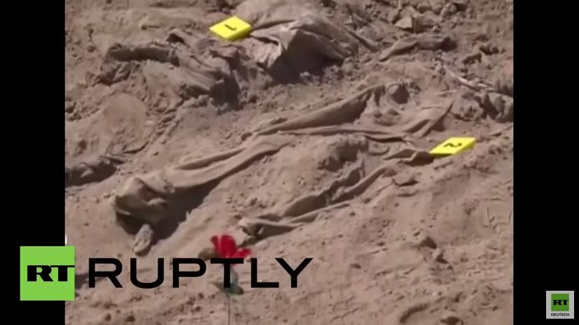 Irak: Über 470 Opfer des IS aus Massengräbern in Tikrit geborgen