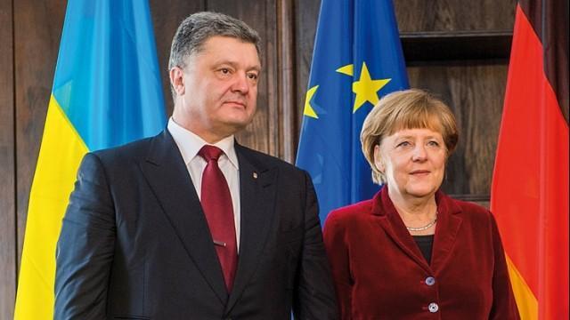 Live: Merkel und Poroschenko geben gemeinsame Pressekonferenz in Berlin