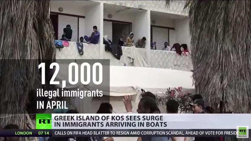 Migrationskrise – Menschenschmuggelei durch die EU