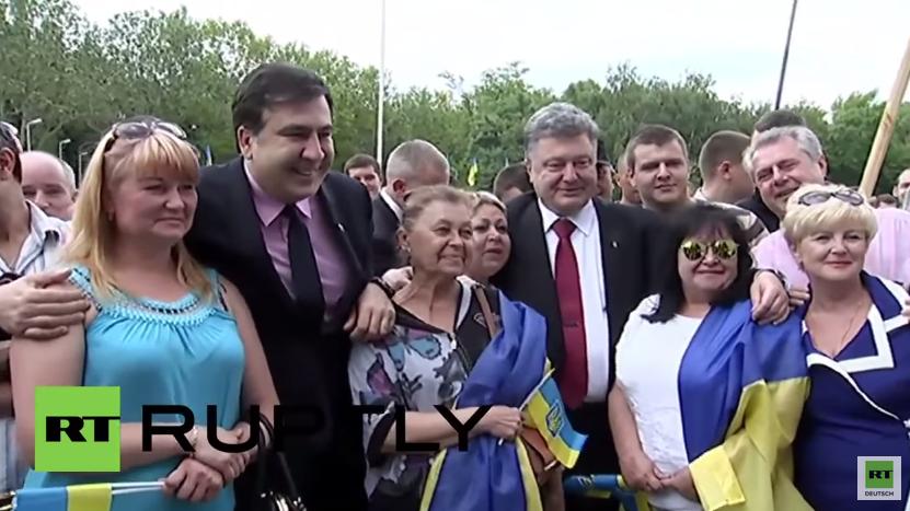 Ukraine: Ex-Präsident Georgiens, Saakaschwili, zum Gouverneur von Odessa ernannt