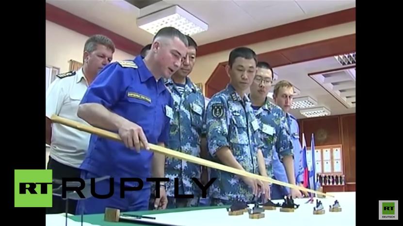 Mittelmeer: Russland und China halten gemeinsame Seemanöver ab