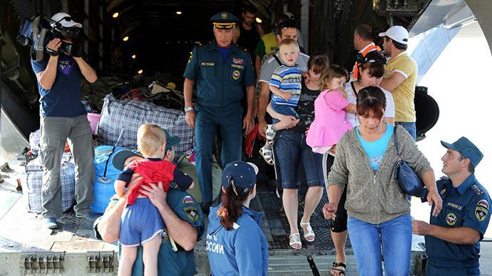 UN lobt Moskau für Umgang mit den über 700.000 ukrainischen Flüchtlinge in Russland