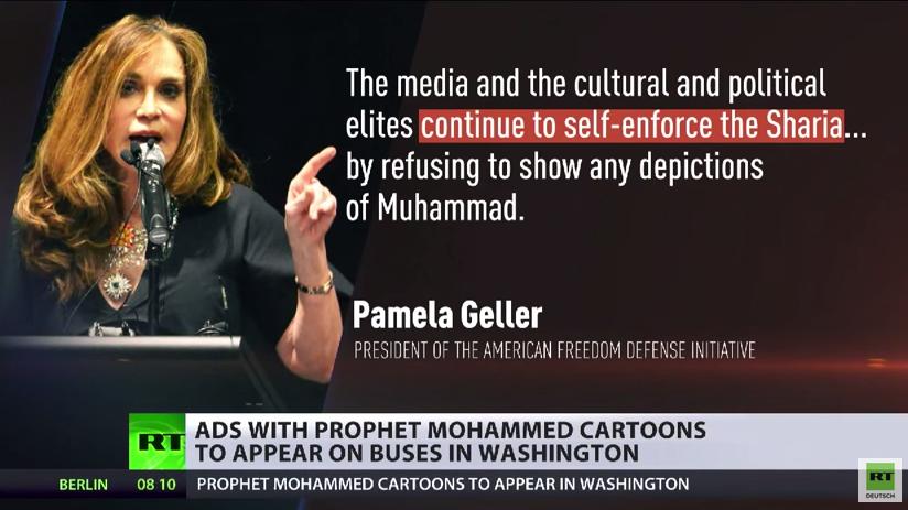 USA: Friedensförderung durch Mohammed-Karikaturen auf Bussen und Zügen?